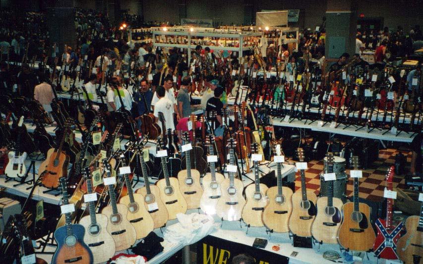 Bee 3 vintage guitar show